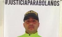 Eduardo Bolaños Guzmán, patrullero asesinado el 26 de abril de 2018.