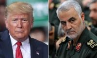 Donald Trump y el abatido general Qasem Soleimani