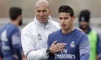 James y Zidane.
