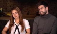 Shakira y su pareja Gerard Piqué