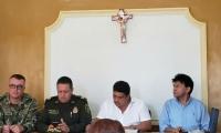Consejo de Seguridad realizado por la Gobernación en Sitionuevo.