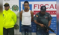 Eliécer Andrés Sierra Rodríguez, presunto homicida de la adolescente Yanifer Paola Patiño Álvarez.
