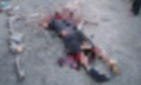 El sicario fue asesinado por la comunidad.