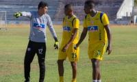 Jugadores del Unión Magdalena durante la pretemporada.