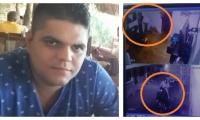 Elkin Arias Cotes, hombre asesinado esta madrugada en Santa Marta.
