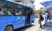 Aumento de la tarifa de buses en Santa Marta.