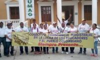 Los maestros de Santa Marta se concentrarán en el Liceo Celedón.