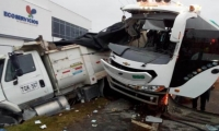 Accidente en El Rosal /