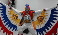 Este fue el disfraz de El Cole que robaron a mano armada en Barranquilla.