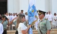 El nuevo comandante de la Policía Metropolitana de Santa Marta, coronel Óscar Solarte.