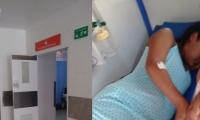 La joven ha visitado varios centros asistenciales.