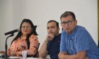 La mesa directiva del Concejo Distrital