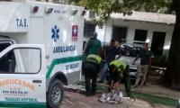 Ambulancia con droga.