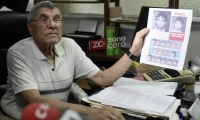 Martín Mestre, papá de la joven asesinada en Barranquilla hace más de dos décadas.