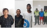 Capturados en Santa Marta