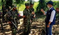 Liberación del soldado en el Catatumbo.