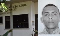 El cuerpo de Luis Benjamín Beleño fue llevado a Medicina Legal.