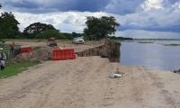 La comunidad está preocupada por los pocos avances frente a la intervención en la erosión.