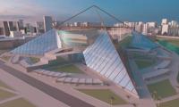 Este es el diseño de Arena del Río.