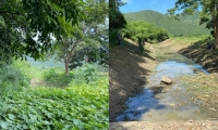 Antes y después de la intervención de Corpamag.