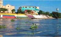 El río Magdalena sigue aumentando sus niveles.