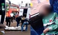 El pasajero fue hallado sin vida en Bosconia al no responder a la tripulación.