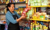 Mujeres tenderas de Colombia