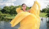Valeria Sierra Rada, reina del Festival del Hombre Caimán