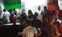 Aglomeraciones de personas en El Rodadero.