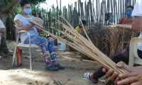 La dotación es para la elaboración de productos a los 11 beneficiarios de las comunidades étnicas inscritas en el proyecto.
