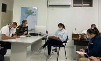Reunión de las autoridades de seguridad del Distrito.