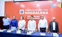 Instalación de la Comisión por la Alta Transparencia y Moralidad Pública del Magdalena