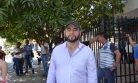 Freddy Castillo, alias 'Pinocho', se presentó este sábado en la URI