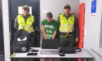 Alias 'Pupileto' fue llevado a la URI de la Fiscalía.