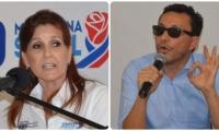 Rosa Cotes se fue en contra de Carlos Caicedo.