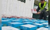 Incautan mercancía de contrabando
