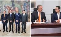 Honorio Henríquez se refirió a las obras que presentó Caicedo al presidente Iván Duque.