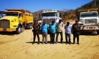 Los capturados por minería ilegal.