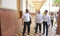 La petición del gobernador fue presentada ante el monseñor, Luis Adriano Piedrahita Sandoval.