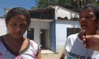 La comunidad denunció el mal estado del puesto de salud de Sampués.