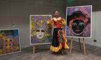 Los cuadros son de la artista Ana María González