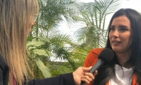 Aida Merlano en entrevista con Vicky Dávila.