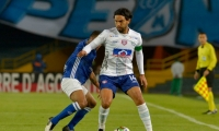 Aguilar jugó sus últimos minutos como profesional vistiendo los colores del Unión Magdalena.