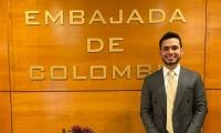 José Andrés Orozco Valencia, estudiante del programa de Marketing y Negocios Internacionales, de la Universidad Sergio Arboleda, Santa Marta.