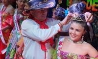 Coronación de la Reina Central de los carnavales de Remolino