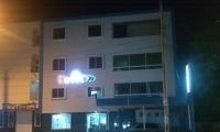 El homicidio ocurrió en la entrada del hotel MG, en el barrio 11 de Noviembre, sobre la Troncal del Caribe.
