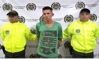 Al presunto jíbaro le hallaron en su poder 93 dosis de marihuana.