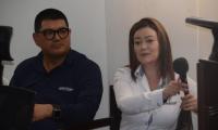 La directora regional de Migración Colombia, María del Pilar Corredor.