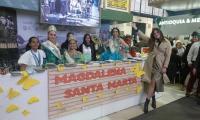El stand del Magdalena fue uno de los más visitados en la Feria de Anato.