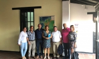 La reunión se realizó en la sede de la Dirección Territorial Caribe de Parques Nacionales